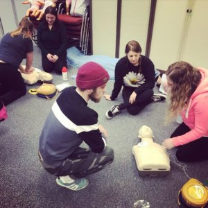 first aid at work & paediatric course