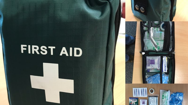 Soft Pouch First Aid Kit