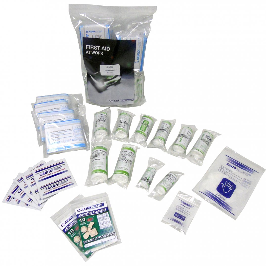 small First aid kit refill