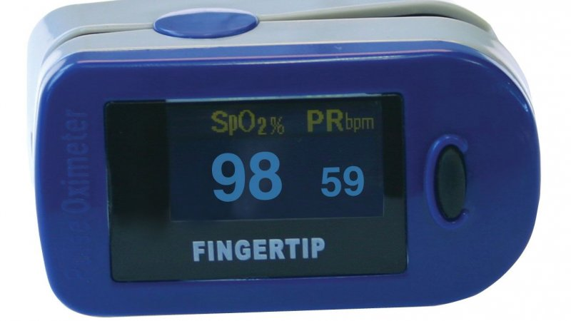 Pulse Oximeter - oxygen monitor