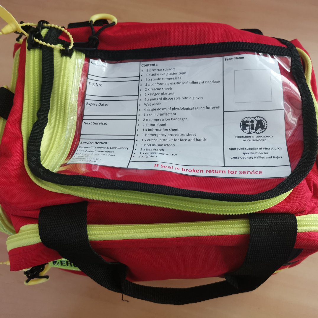 FIA Rally First Aid Kit